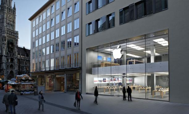 Apple Store in München - Foto: Apple
