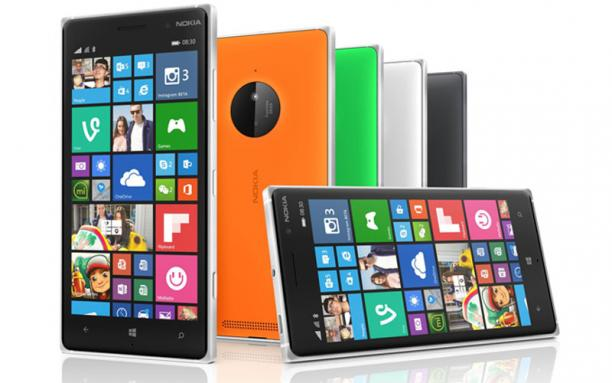 Das Lumia 830 - Foto: Microsoft Press